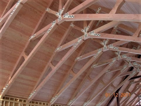 Timber Frame Tongue And Groove Ceilings
